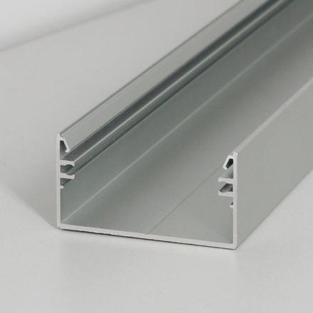 1m LED juostos profilio LOWI, anoduotas