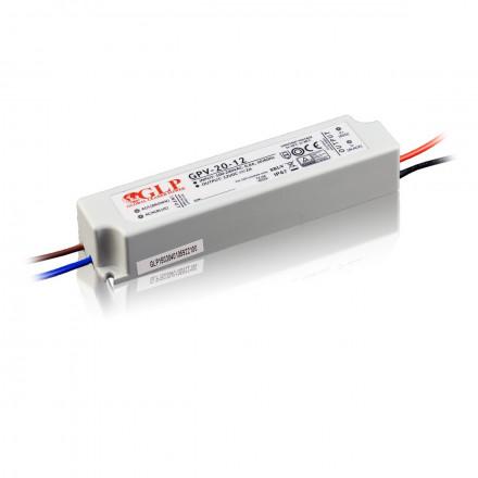 12W LED Maitinimo šaltinis GLP 12V IP67