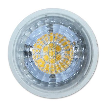 7W LED lemputė V-TAC GU5.3, AC/DC 12V (SMD LED), (3000K) šiltai balta