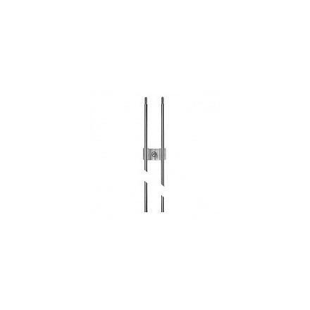 LED MINI DUO sistemos šviestuvo profilis 1830mm