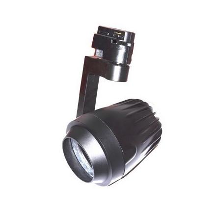 PAR20 lemputės laikiklis, montuojamas ant bėgelio, juodas, 2 šerdžių