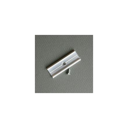 LED juostos profilio sujungimo elementas X