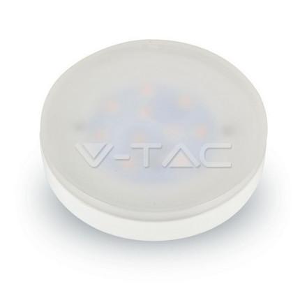 7W LED lemputė V-TAC PAR GX53 SMD, (3000K) šiltai balta