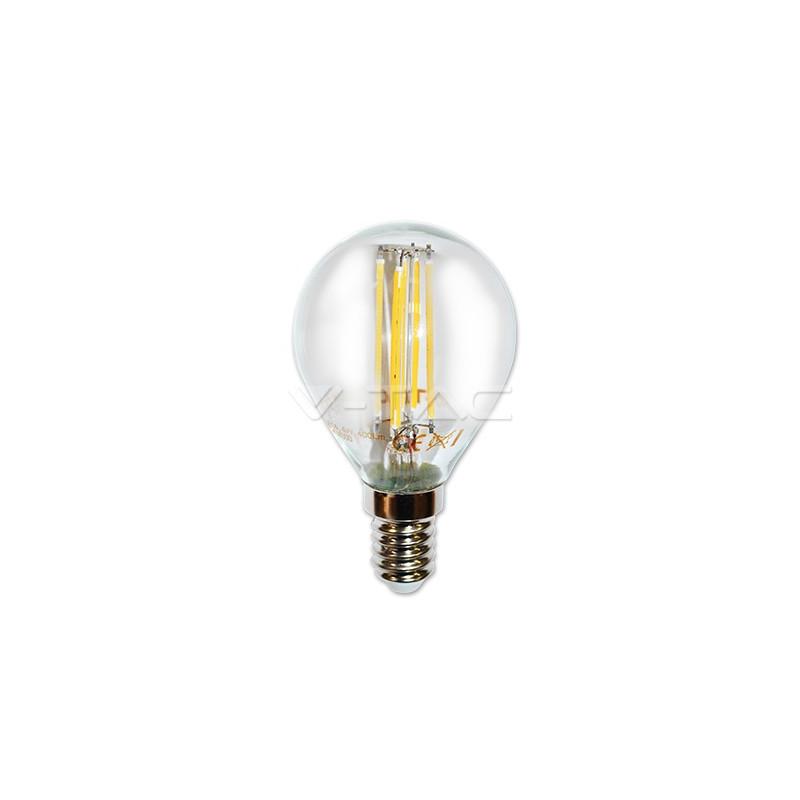 4W LED COG lemputė V-TAC E14, P45 (6000K) šaltai balta