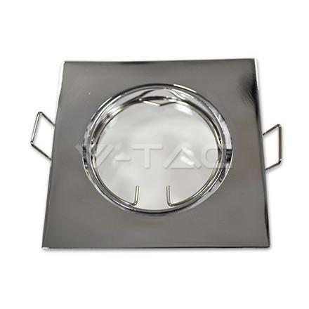 GU10 lemputės rėmelis, V-TAC, kvadratinis