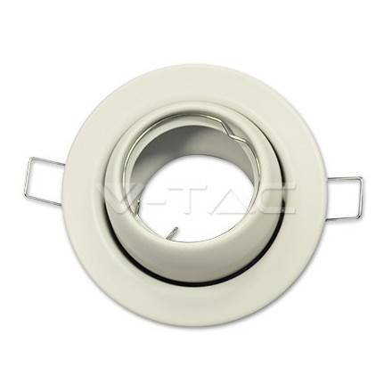 GU10 lemputės rėmelis, V-TAC, apvalus
