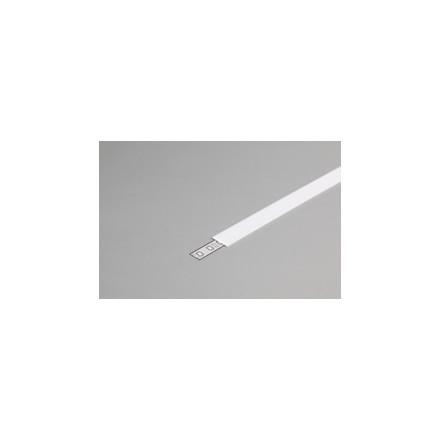 1m LED juostos profilio dangtelis J, baltas