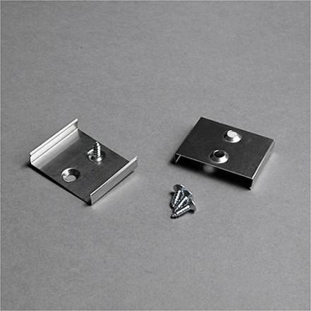 LED juostos profilio tvirtinimo elementas S, juodas