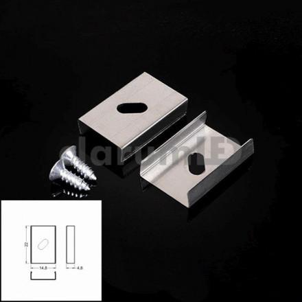LED juostos profilio tvirtinimo elementas S
