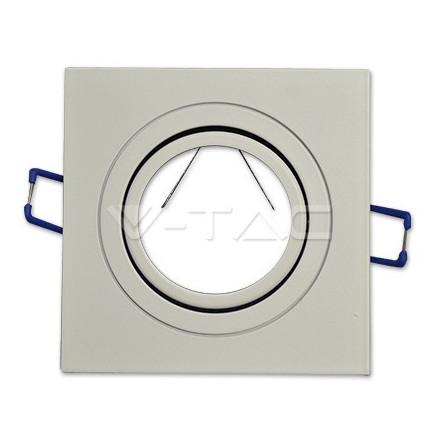 1* GU10 lemputės rėmelis, V-TAC,kvadratinis