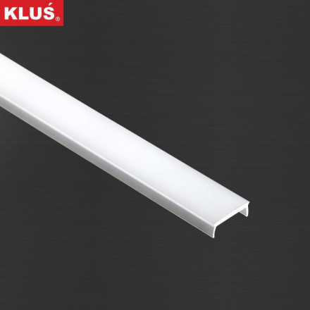 1m Liger22 LED profilio dangtelis (baltas) KLIK (KOZEL, KOZUS)