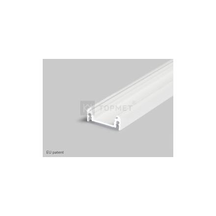 1m LED juostos profilio SURFACE 14, baltas