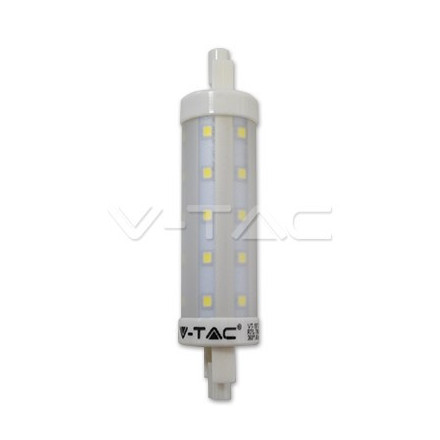 7W LED lemputė V-TAC R7S, 118mm, (4500K) dienos šviesa