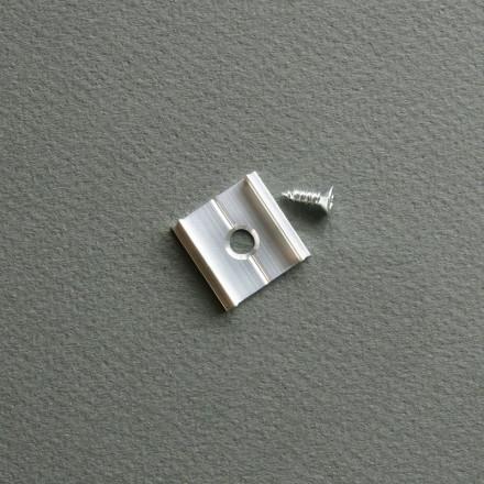 LED juostos profilio tvirtinimo elementas X
