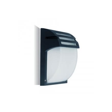 Sieninis sodo šviestuvas, E27, IP44, juodu korpusu