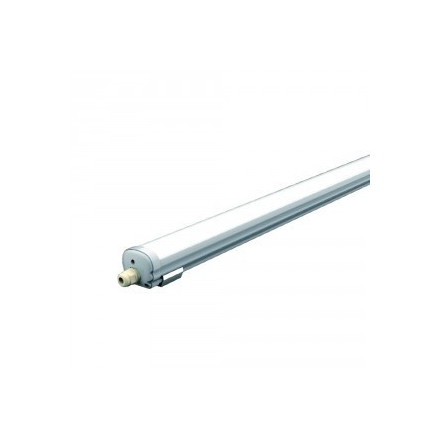 36W LED šviestuvas V-TAC , 120cm, paviršinis, atsparus drėgmei IP65, (4000K) dienos šviesa