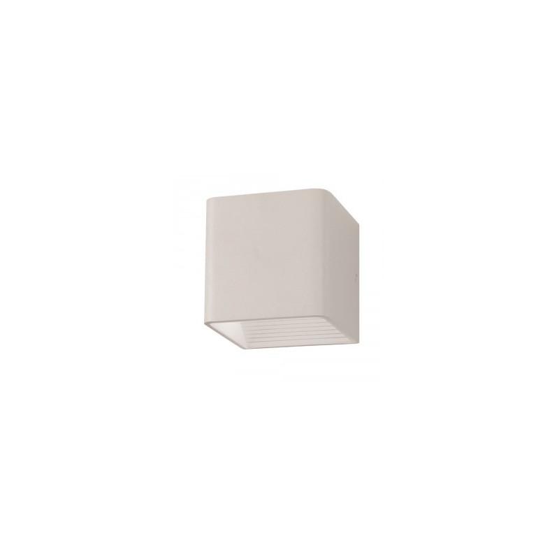 5W LED sieninis šviestuvas V-TAC, (LED SMD), kvadratinis, baltas (3000K) šiltai balta