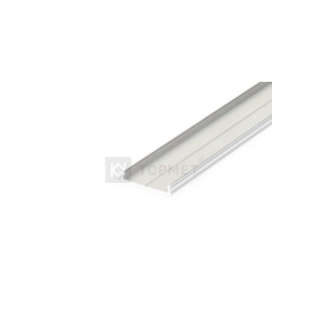 1m LED juostos profilio FIX16, 20,5mm pločio, neanoduotas aliuminis