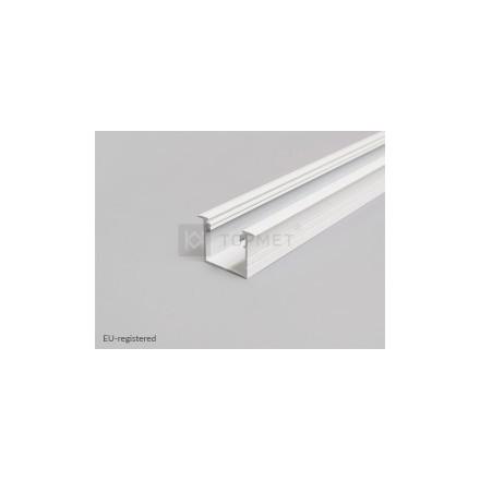 1m LED juostos profilio LINEA-IN20, baltas