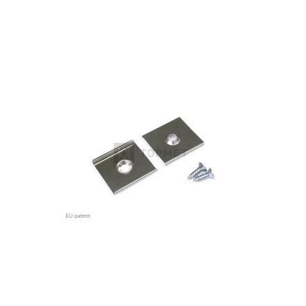 LED juostos profilio tvirtinimo elementas U5 kūginis.