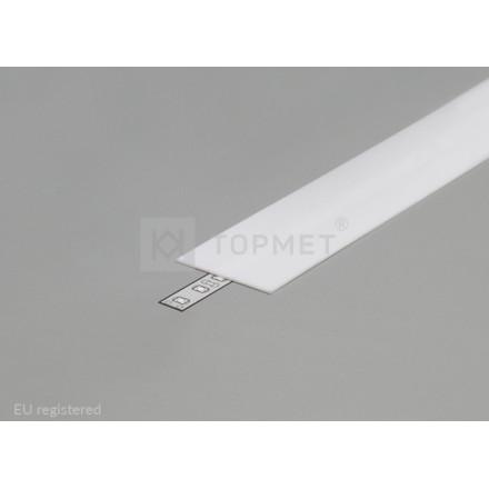 1m LED juostos profilio dangtelis A9, baltas.