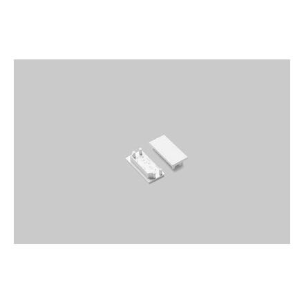 LED juostos profilio VARIO30-04 užbaigimo elementas, baltas.
