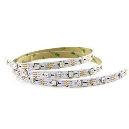 6 W/m LED juosta LUXSONN, 2835, DC24, 60 LED/m, 4000K (dienos šviesa)