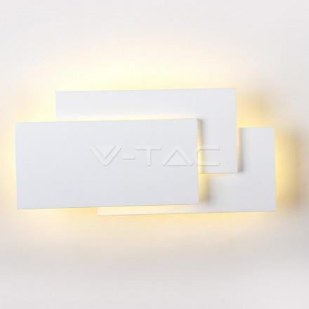 12W LED sieninis šviestuvas V-TAC, baltas, 3000K (šiltai balta)