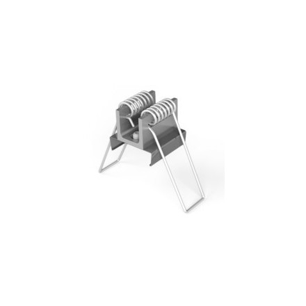 LED juostos profilio LINEA-IN20 tvirtinimo elementas spyruoklė komplekte 2vnt