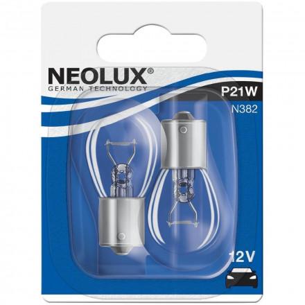 Automobilinė lemputė NEOLUX 21W 12V BA15S 20xBLI2