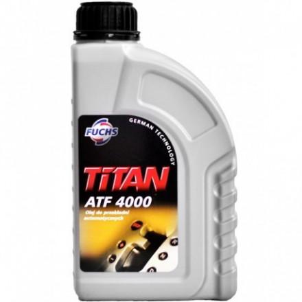 Automatinės transmisijos alyva FUCHS TITAN ATF 4000 1L