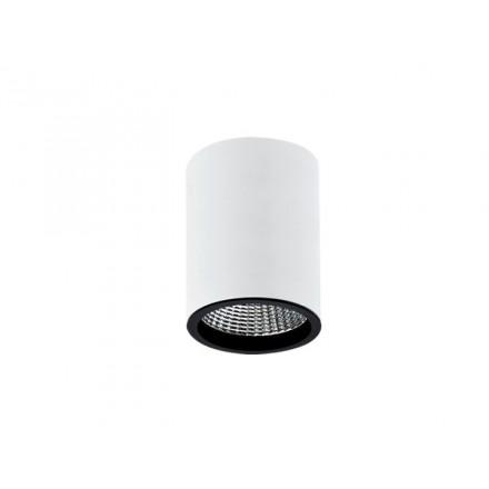 12W LED Šviestuvas paviršinio montavimo RIO, juodu korpusu, (3000K) šiltai balta, 60° kampas