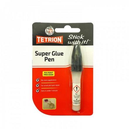 CARPLAN TETRION SuperGlue klijai - pieštukas 3G TSG003