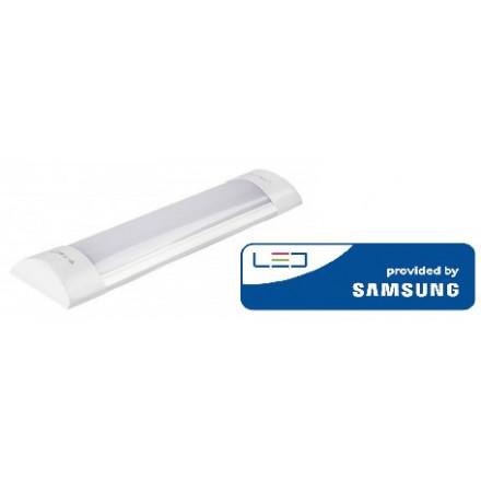 10W LED lempa T8 V-TAC 30cm, 4000K (natūraliai balta),  SAMSUNG LED chip