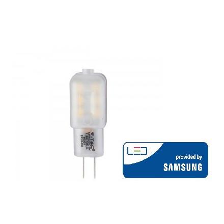 1.5W LED lemputė V-TAC, G4, 6400K (šaltai balta), SAMSUNG LED chip