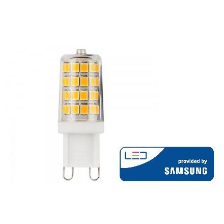 3W LED lemputė V-TAC, G9, 3000K (šiltai balta), SAMSUNG LED chip