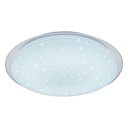 40W LED paviršinis šviestuvas OPTONICA, ovalo formos, žvaigždėtas korpusas, keičiamos spalvos su pulteliu