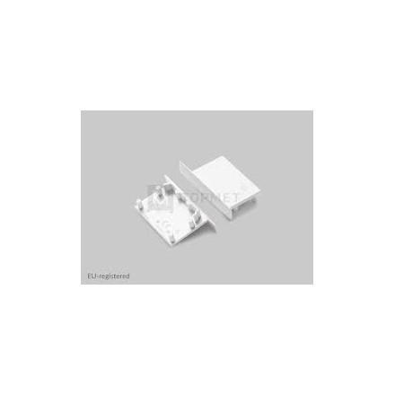 LED juostos profilio VARIO30-03 užbaigimo elementas, baltas.