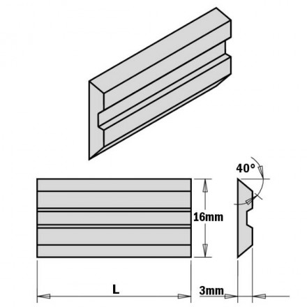 2-PIECE HPS PLANER AND...