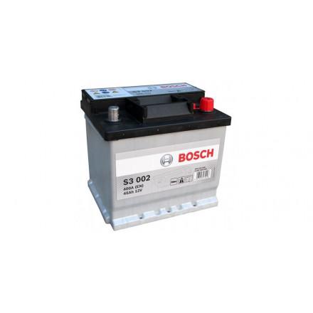 Akumuliatorius BOSCH S3 45AH 400A