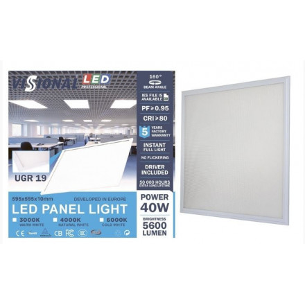 40W LED panelė - VISIONAL...