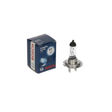 Lemputė 12V H7 55W LONGLIFE DAYTIME PLUS 10 PX26D BOSCH