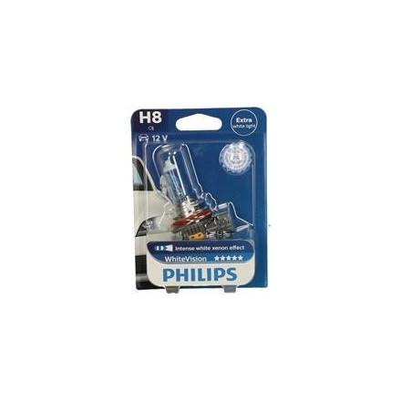 Lemputė12V H8 35W WHITEVISION PGJ19-1 PHILIPS