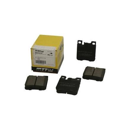 Stabdžių trinkelės WERTTEILE MERCEDES C-KLASA W203 C30CDI AMG 03-, C32 AMG 01-, E-KLASA E250 T