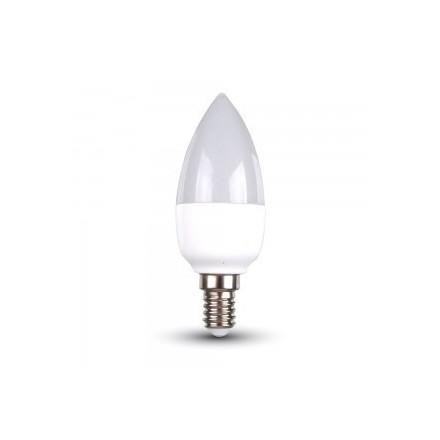 5,5W LED lemputė Е14  V-TAC, žvakės forma, 2700K (šiltai balta)