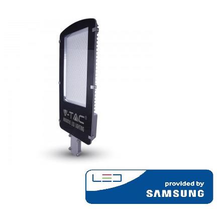 100W gatvės šviestuvas V-TAC, 4000K (natūraliai balta), SAMSUNG LED chip. A++