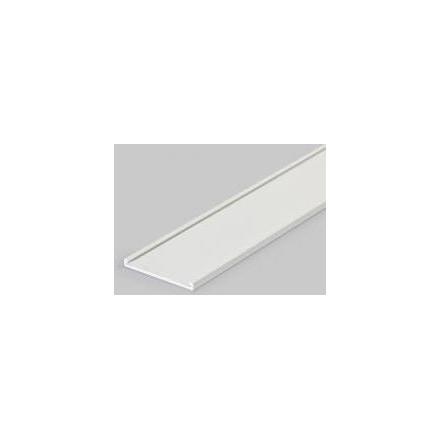 3m aliuminis profilio dangtelis VARIO30-09, baltas.