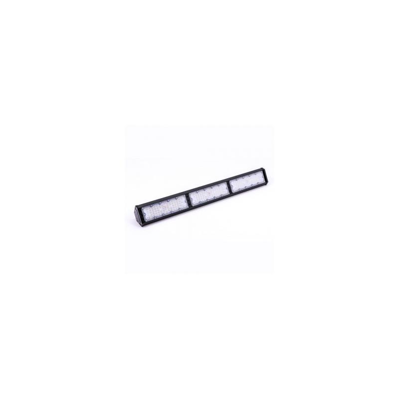 150W LED linijinis sandėlio šviestuvas V-TAC, juodas, 4000K (natūraliai balta)