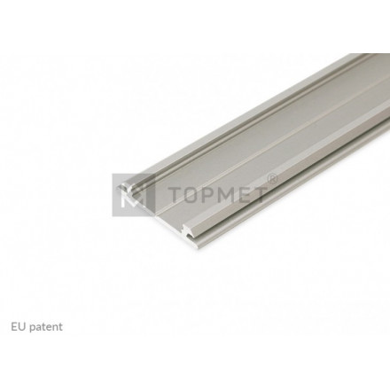 3m LED juostos profilis ARC12, lankstus, anoduotas.