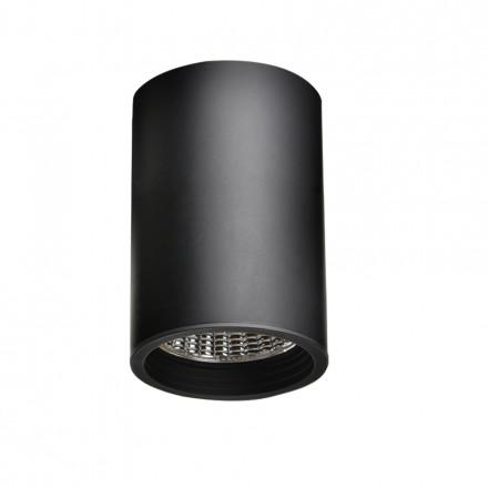 31W LED Šviestuvas paviršinio montavimo RIO, juodu korpusu, (3000K) šiltai balta, 60° kampas